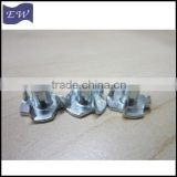 m4 t nut,furniture insert t nuts with 4 prongs (DIN1624)