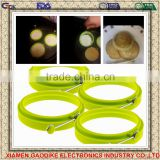 100% Food Grade Round Shape Silicone Fried Egg Cook Ring