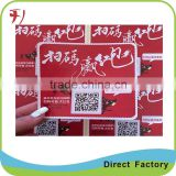 High Quality product Clear Epoxy Resin Sticker