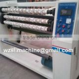 Multifunctional bopp office packing tape slitting machine , stationery tape slitting machine