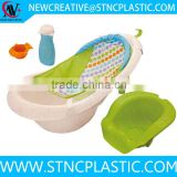 Convertible Bath Center Support 4-in-1 Sling 'n Seat Baby Infant Newborn Toddler Bathtime Sink Tub
