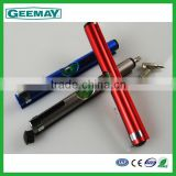 Metal clip tool pen screwdriver set with gradienter wholesale