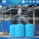 Chinese high quality Fully Automatic Extrusion Blow Moulding Machine for hdpe water tank