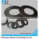 DIN127 China supply cheap price high quality type of lock washer carbon steel phosphating disc spring washer