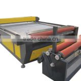 auto feeding large power CO2 laser cutting machine bed/ leather rubber laser cutter timber laser cutting machine