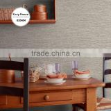 economic heavy embossed plastic wallpaper, solid color neat plain wall covering for exterior , cute wall mural contractor