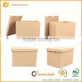 Wholesale different sizes custom high-capacity corrugated storage packaging box