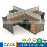 Modern Design Cubicle Office Workstation for 4 people                                                                         Quality Choice