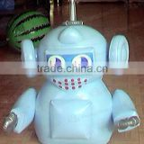 Hot sale funny PVC products inflatable robot toy