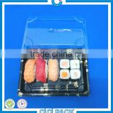 wholeslae Plastic Rectangular Fast Food sushi Trays , custom plastic sushi trays manufacturer