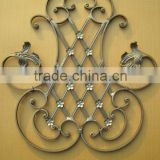 wrought iron decorative wall panel
