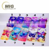 For lg g4 g3 g2 Colorful 3D Blu ray Butterfly tpu for iphone/for htc/for lg/for huawei phone case