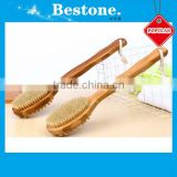 Bamboo Body Spa Massager Brush with Bristle