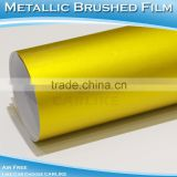 CARLIKE Imported Glue Chrome Metallic Film Brushed Vinyl Car Wrap