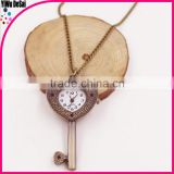 antique necklace watch wholesale key pocket watch