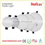 15w SMD ultra thin round led panel lights 120 degree beam angle aluminum Led flat panel light