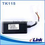 Mini Motorcycle TK115 Vehicle GPS Tracker anti theft system watch LBS+SMS/GPRS GSM Alarm