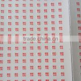 Custom Design Self Adhesive Printing for Breakable Eggshell Fragile Stickers