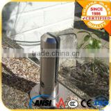 best stainless steel glass pool fence spigot round glass balustrade spigots frameless glass spigot seller