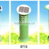 solar led lawn light garden dwarfs garden lamp with battery solar garden lighting pole light