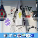 china wholesale factory direct cotton microfiber printed kitchen cleaning cloth