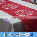 100% polyester laser cutting table runner