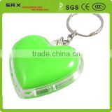 Heart shaped plastic 3d keychain, cheap heart shaped plastic 3d keychain, custom plastic keychain China manufacturer