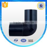 Plastic pe pipe elbow bend joint