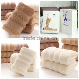 Softest Luxury Towel Set 600 gsm 100% Egyptian Cotton Bath Hand faceTowels With Packing Box