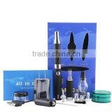 wholesale evod dry herb burner or wax burner electronic cigarette 3 in 1 starter kit all in one kit