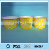 12oz/16oz/20oz ice cream paper container/ice cream paper container with flat plastic lid                                                                         Quality Choice