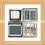European style glazed glass PVC window/pvc double glazing window/upvc windows