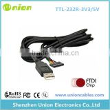 USB to TTL Serial Cable Adapter FTDI Chipset FT232 USB Cable FT232RL TTL 3.3V