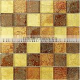 GP4827 wooden grey marble mosaic wooden beige marble mosaic white and black marble tile mosaic