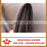 High Flexibility Anti-flame leather material for material decoration,with Fashion Transferred Film