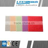 2015 Latest mineral wool insulation polyester fiber acoustic panel