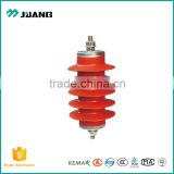 Voltage 10kv-11kv lightning arrestor for protection of power transmission surge arrester