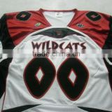 100% Polyester Tackle Twill American Football Jerseys