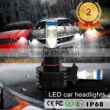 Factory direct auto parts high power LED Lamp Type and Headlight Type LED Bulb Auto LED Car Lamp HB3 HB4
