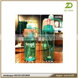 water bottles wholesale Food grade Tritan 100%BPA free biodegradable plastic bottle ZDS1884
