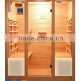 family use 4 person big size infrared sauna room heat wave saunas