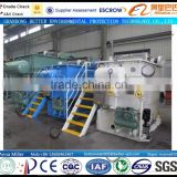DAF-5 small capacity industrial waste water treatment plant, high remove rate of TSS, COD, BOD