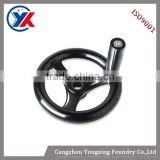 2015 on sale Polished Casting Handwheels, hand wheels iron casting