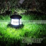 solar step lights outdoor small garden lawn lights on step