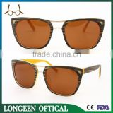China Wholesale Wood Grain Acetate sunglasses