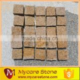 10x10x5cm natural split G682 granite cobble stone tile