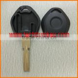 Tranponder car key case shell cover fob blanks wholesale with chip groove car key for BMW E31 E32 E34 E36 E38 E39 E46 Z3