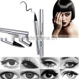 YANQINA Silver Tube Extreme Liquid Black Eyeliner Pencil Waterproof Makeup Beauty Eye Makeup