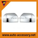 3/4 chrome side view mirror cover for ford f150 trucks