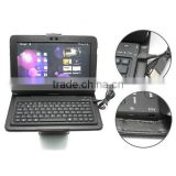 "Wireless keyboard blue tooth with tablet PC stand for 10.1"" Samsung galaxy Note N8000"